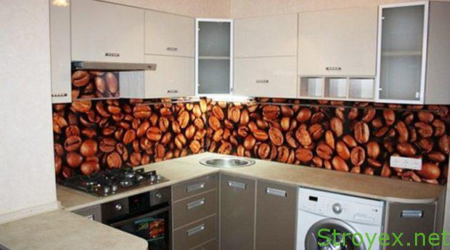 Кухонный фартук пластик