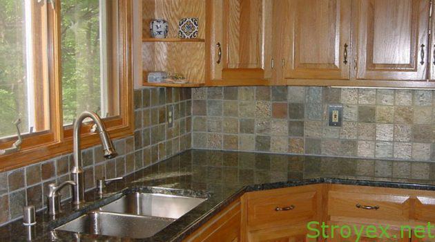 Кухонный фартук плитка